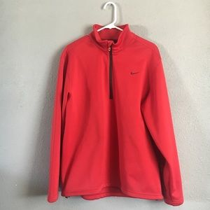 NIKE golf red jacket large
